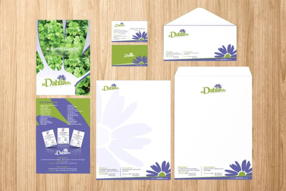 Dahlia Brand Identity