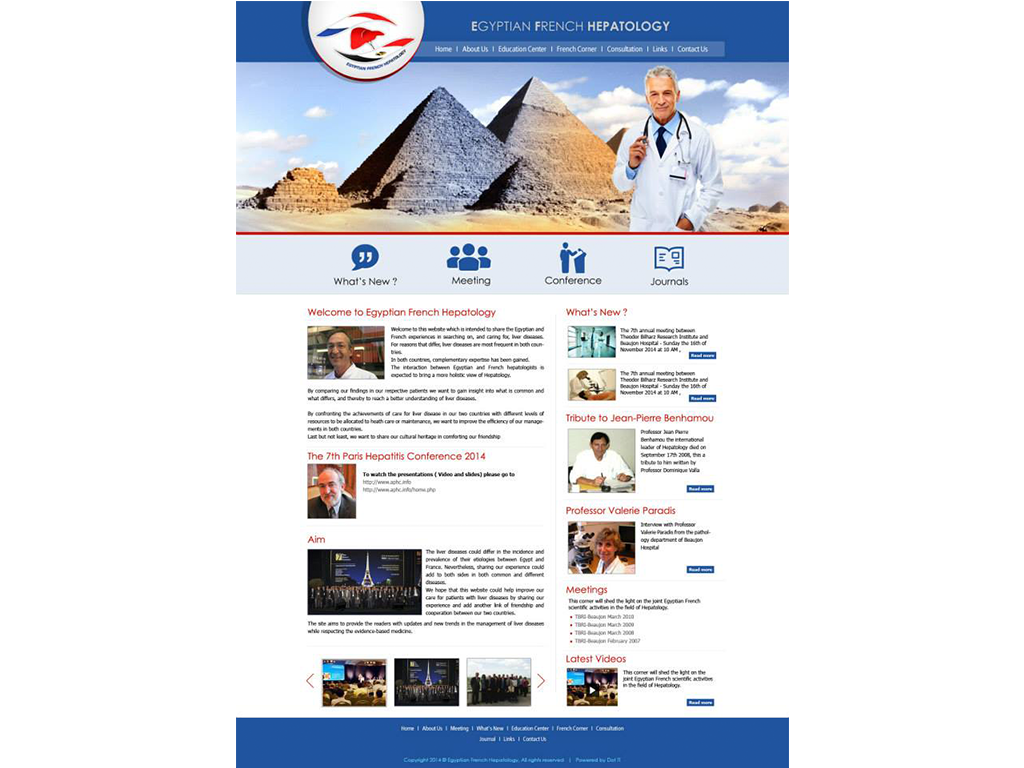 Egyptian French Hepatology Website