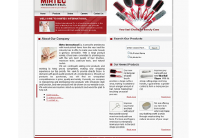 Beauty Care Tools & Personal Care Products Website