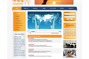 Egycalender Website