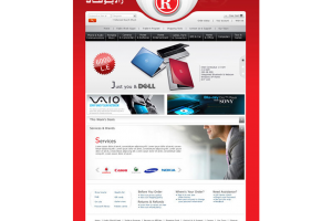 Radio Shack Website
