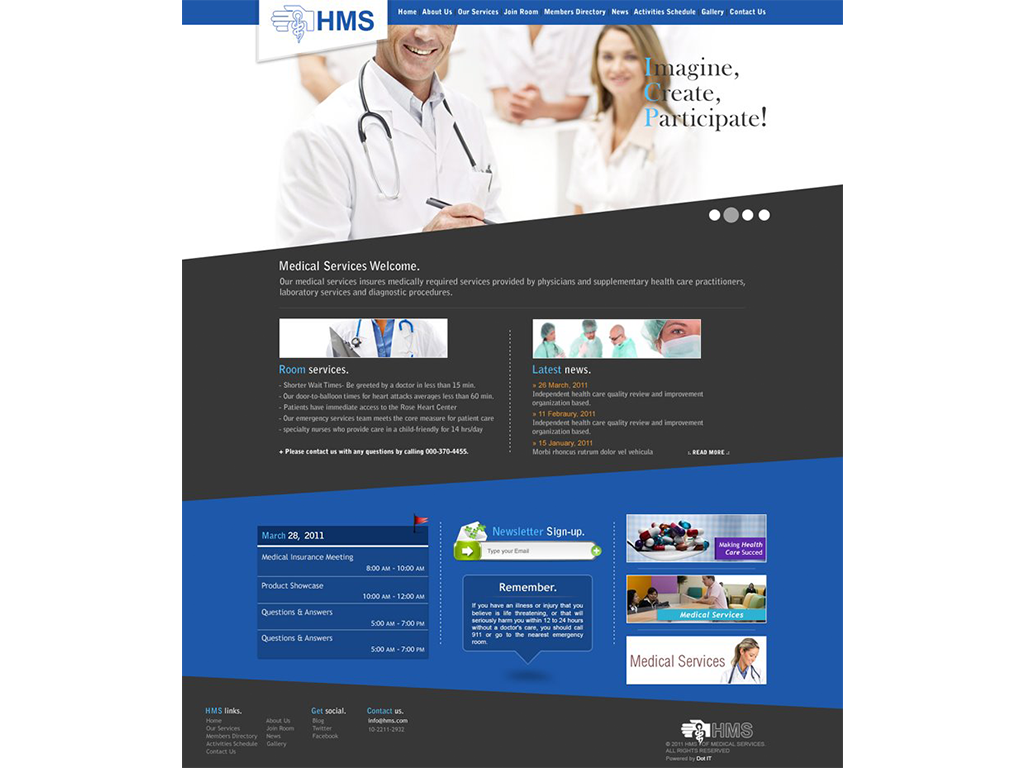 The HealthCare Providers Chamber (HCP) Website