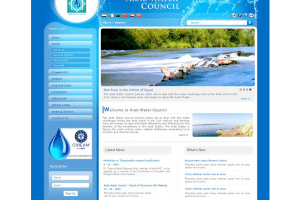 Arab Water Council Website