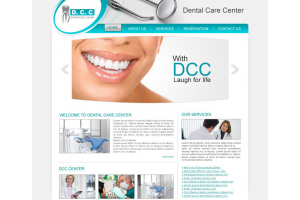 Dental Care Center Web