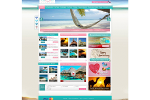 The Honeymoon Planner Website