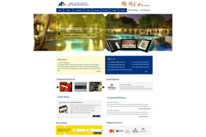 Alfa Electronics Website