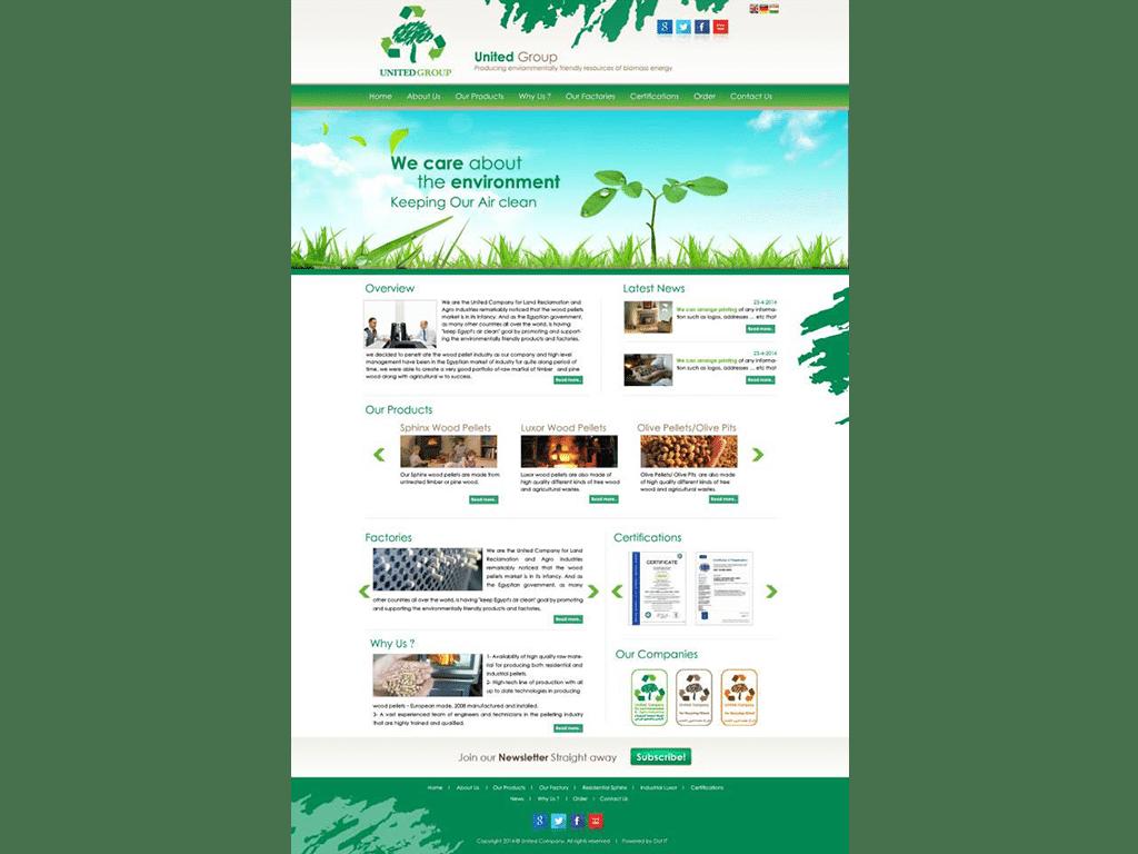 United Group Website