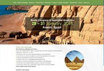 World Congress of Neonatal Medicine Conference Website