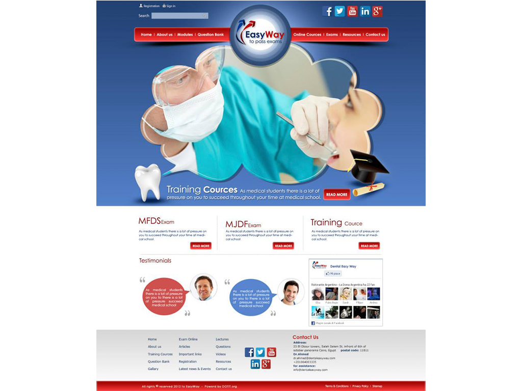 Dental Easy Way Website