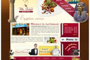 Mr. Falafel - Egyptian Cuisine Website